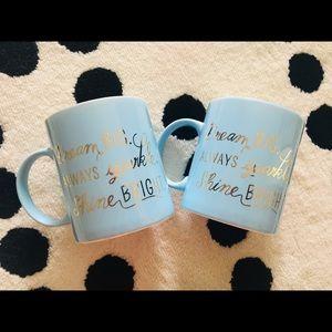 Gilded Mugs